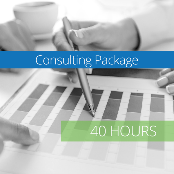 Consulting Package - 40 Hours